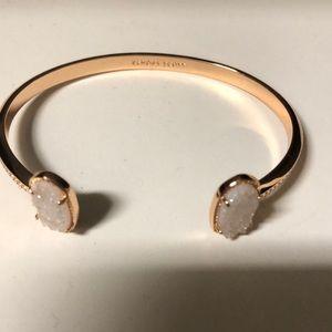 Kendra Scott rose gold druzy bracelet